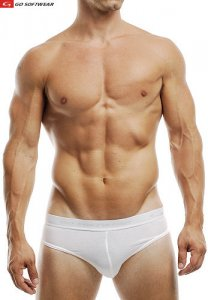 Go Softwear M Padded Butt Brief Underwear White 2734