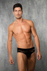 Doreanse Lace Brief Underwear Black 1353