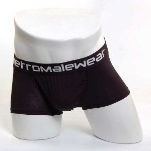 MIIW Roomy Boxer Brief Underwear Black 3113-20