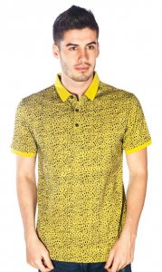 Barabas Astro Polo Short Sleeved Shirt