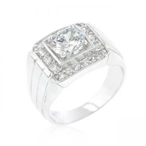 J. Goodin Pave Cubic Zirconia Ring R07308R-C01