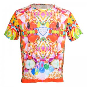 Andreas Diofebi The Trinitas Candy Loose Cut Short Sleeved T Shirt