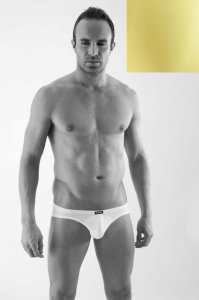 Geronimo Circular Seam Brief Underwear Yellow 1358S2