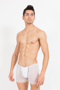 Lookme Tripler Boxer Brief Underwear White 42-67