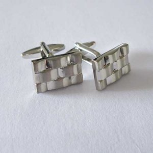 Distino Of Melbourne Formal Weave Cufflinks C05