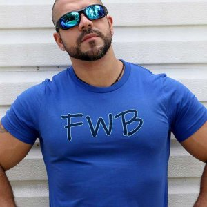 4 Labels Friends With Benefits FWB Short Sleeved T Shirt Roy...
