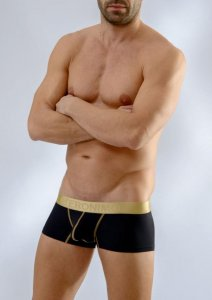 Geronimo Boxer Brief Underwear Black 1663B2-2