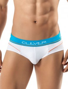 Clever Zolo Brief Underwear White 5234