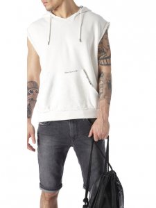 Diesel Jordan Beach Sleeveless Hoody Sweater