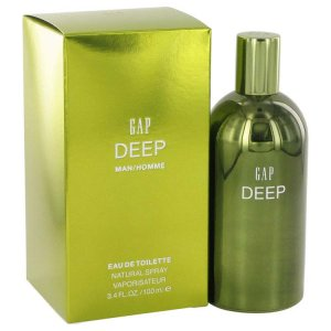 Gap Deep Eau De Toilette Spray 3.4 oz / 100.55 mL Men's Fragrance 515548