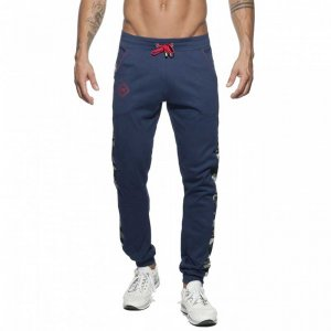 Addicted Sport Camo Pants Navy AD661