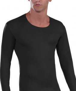 Lord Cotton Long Sleeved T Shirt Black 235