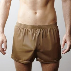 Players Nylon Tricot Boxer Underwear Brown