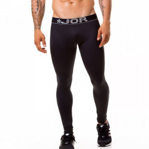 Jor Fitness Athletic Pants Black 0375