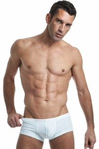 L'Homme Invisible Blanc Mini Boxer Brief Underwear White MY18-S02