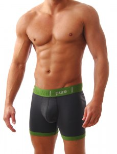 Baskit Pure Boxer Brief Basic Black Underwear P1500