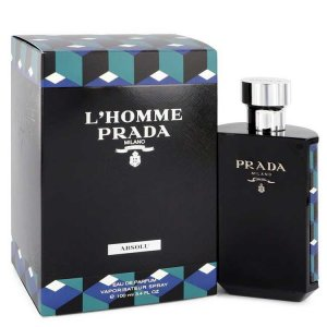 Prada L'homme Prada Absolu Eau De Parfum Spray 3.4 oz / 100.55 mL Men's Fragrances 545414