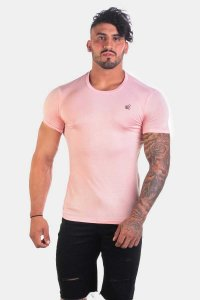 Jed North Magnificent Scoop Short Sleeved T Shirt Pink JNTOP018