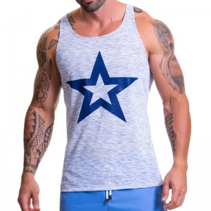 Jor BLISS Tank Top T Shirt Blue 0609