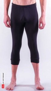 Go Softwear D T L A 3/4 Lounge Pants Onyx 4619
