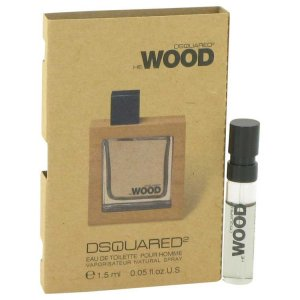 Dsquared2 He Wood Vial (Sample) 0.05 oz / 1.48 mL Men's Frag...