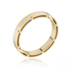 J. Goodin Two Tone Band Ring R08434TV-V00