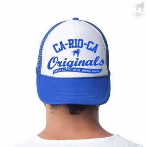 CA-RIO-CA Originals Two Tone Hat Royal Blue/White CRC-H109205