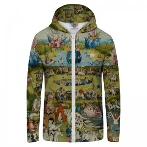 Mr. Gugu & Miss Go Garden Unisex Zip Up Hoodie H-PC167