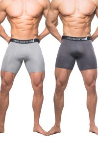 Jed North [2 Pack] Brooklyn Performance Boxer Brief Underwea...