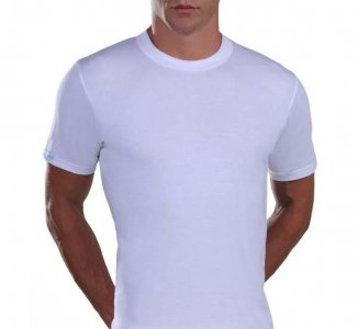 Lord Round Neck Short Sleeved T Shirt White 1525
