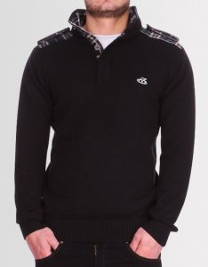 Kear&Ku Knitted Long Sleeved Sweater Black