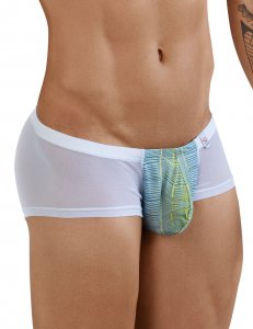 Clever Lily Latin Boxer Brief Underwear White 2382