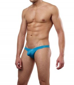Cover Male Pouch Enhancing Thong Underwear & Swimwear Turquoise 202