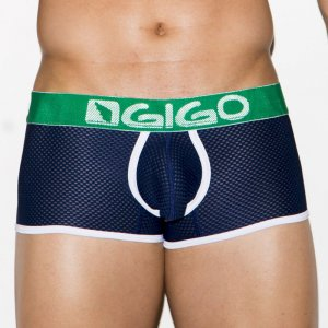 Gigo ZOOM BLUE Short Boxer Underwear G02118