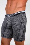 Pistol Pete Sportek Compression Boxer Brief Underwear Grey CS414-200