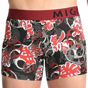 MIGO Summer Festival Boxer Brief Underwear Black