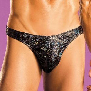 Excite Hologram Thong Underwear E19