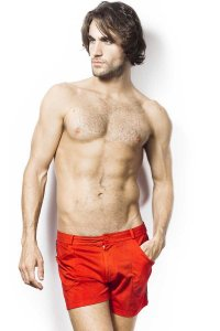 L'Homme Invisible TLJ Shorts Red SP01-TLJ-010