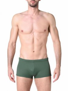 Diesel Hero Square Cut Trunk Swimwear Olive