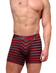 Xtremen Cotton Boxer Brief Underwear Red 51382
