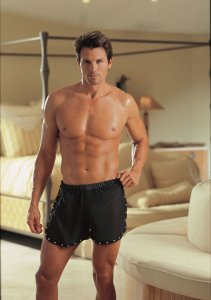 Dreamguy Black Chiffon Boxer Brief Underwear 4976