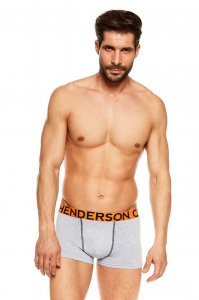 Henderson [2 Pack] Joey 36617-MLC Boxer Brief Underwear Grey...