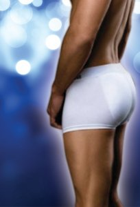 Body Adonay Butt Padding Enhancing Boxer Brief Underwear Whi...
