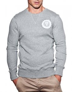 Supawear Sports Club Long Sleeved Sweater Grey Marle J10SCGM