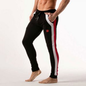 Code 22 2 Drill Jogger Pants Black 9502