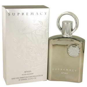 Afnan Supremacy Silver Eau De Parfum Spray 3.4 oz / 100.55 m...