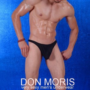 Don Moris Sheer Thong Underwear Black DM080880