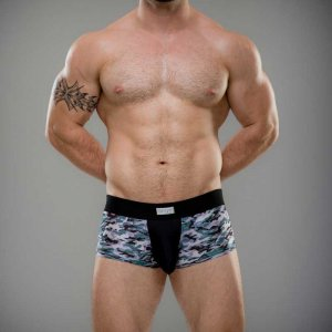 Sukrew Jake Full Trunk Underwear Artic Camo SFT-PE-020-A015