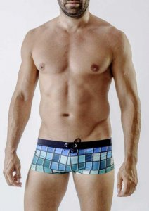 Geronimo Square Cut Trunk Swimwear 1718B2-3