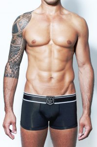 2EROS Black Label Boxer Brief Underwear Black U30-10